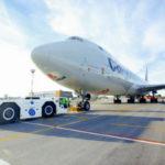 """Аэропорт """"Толмачево"""" начал линейное обслуживание Boeing 747-8F"""