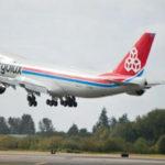 Авиакомпания Cargolux получила первый Boeing 747-8F